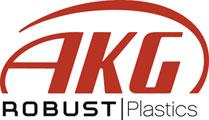 AKG Plastics Logo & Link